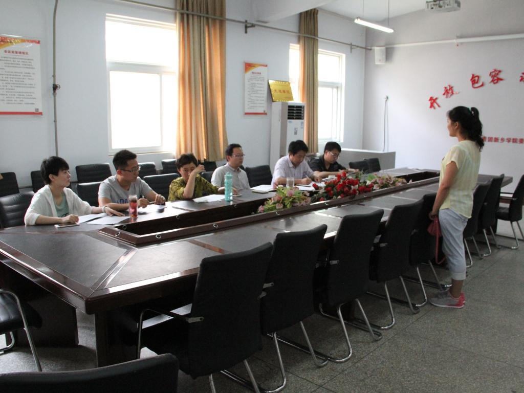 校青年志愿者联合会组织西部计划与贫困县计划面试